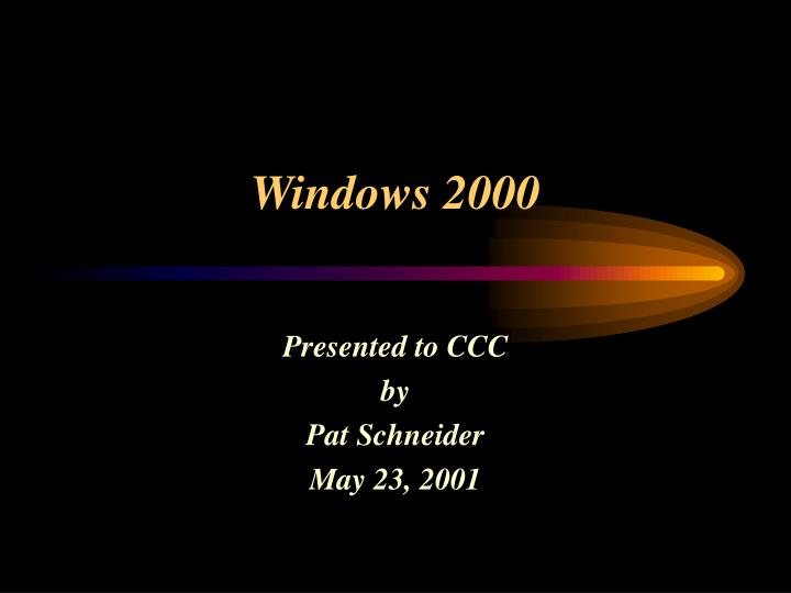 windows 2000 n.