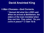 david anointed king11