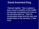 david anointed king12