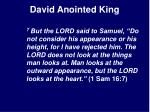 david anointed king14