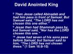 david anointed king15