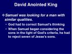 david anointed king18