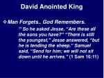 david anointed king20