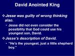 david anointed king23