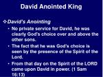 david anointed king26