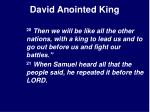 david anointed king7