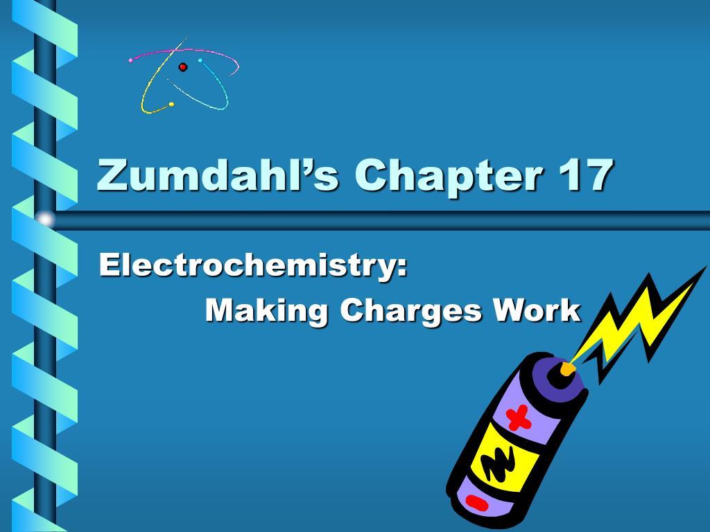 zumdahl s chapter 17 l.