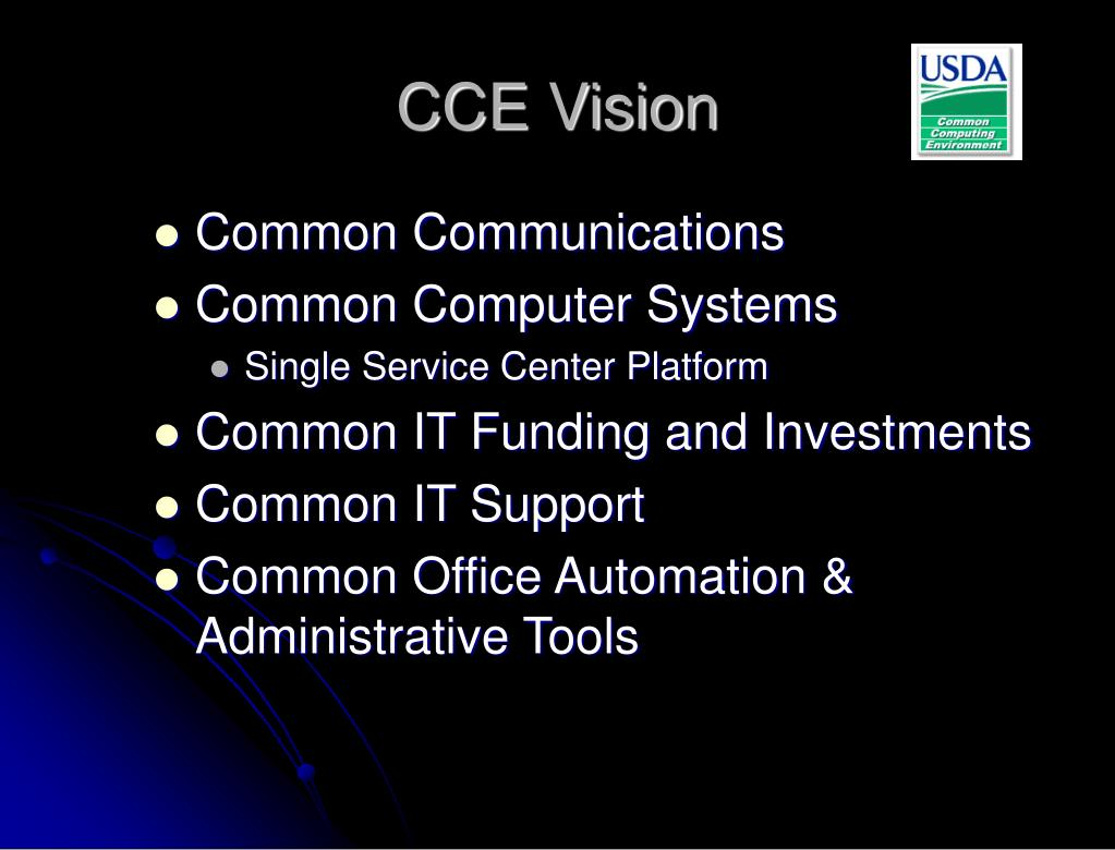 CCE Vision