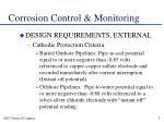 corrosion control monitoring9