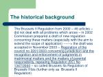 the historical background4