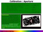 calibration aperture35