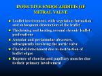 infective endocarditis of mitral valve