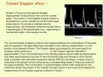 pulsed doppler effect