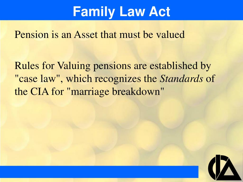 Family Law Act