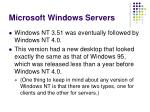 microsoft windows servers3