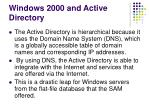 windows 2000 and active directory20