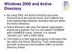windows 2000 and active directory21