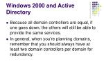 windows 2000 and active directory23