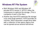 windows nt file system25