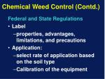 chemical weed control contd13