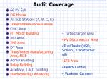 audit coverage