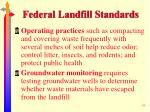 federal landfill standards48