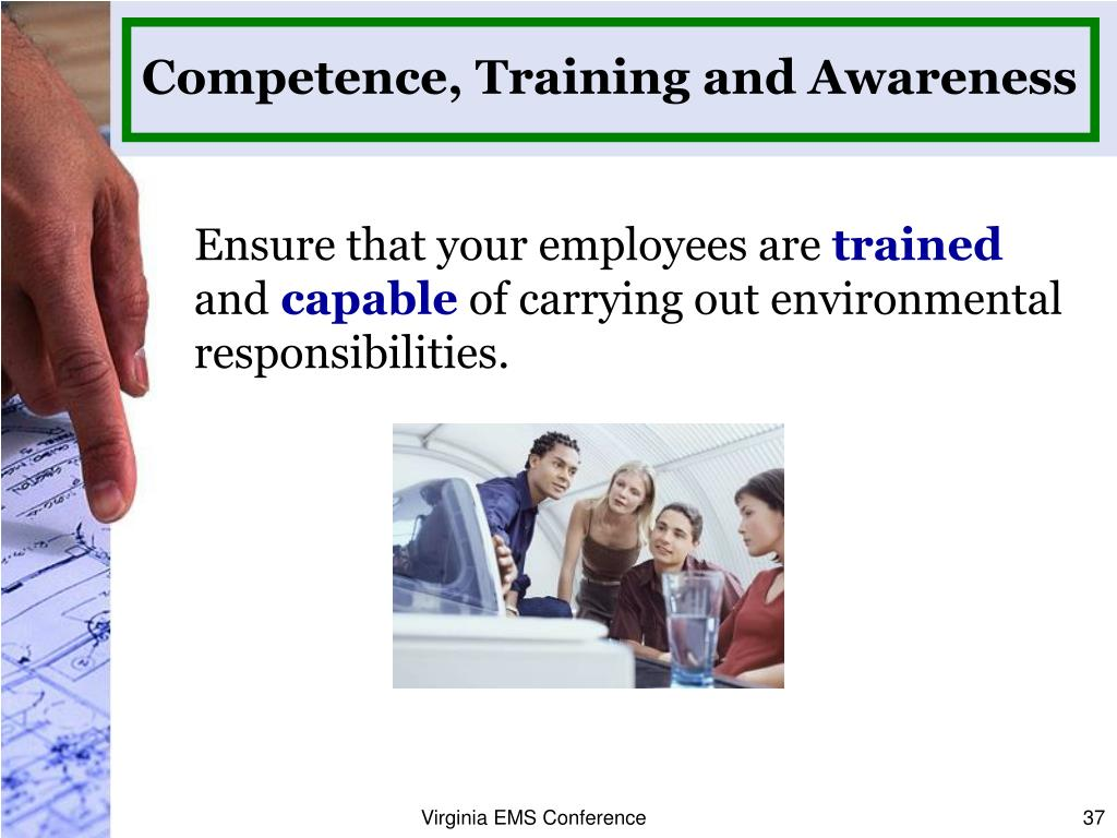 Competence, Training and Awareness