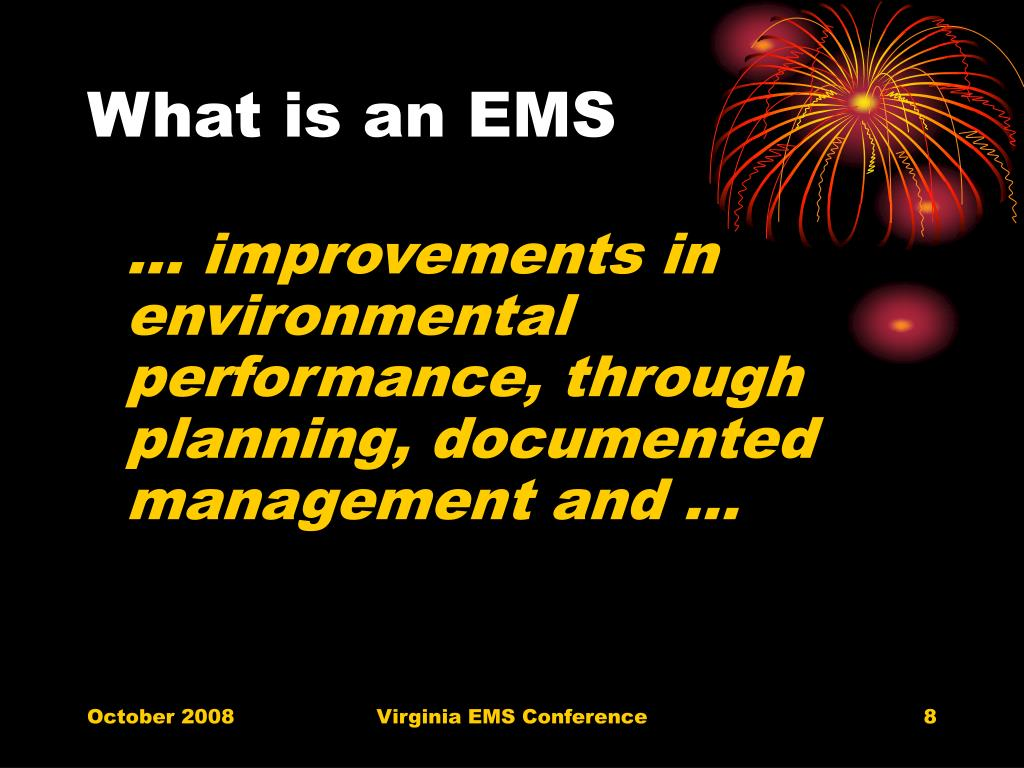 What is an EMS