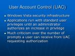 user account control uac