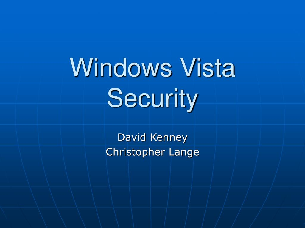 windows vista security l.