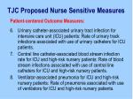 tjc proposed nurse sensitive measures20