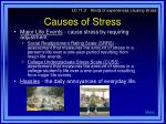 causes of stress7