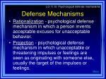 defense mechanisms32