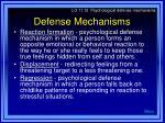 defense mechanisms33