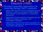 emerick 1988