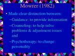 mowrer 1982