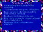 sheehan 1970