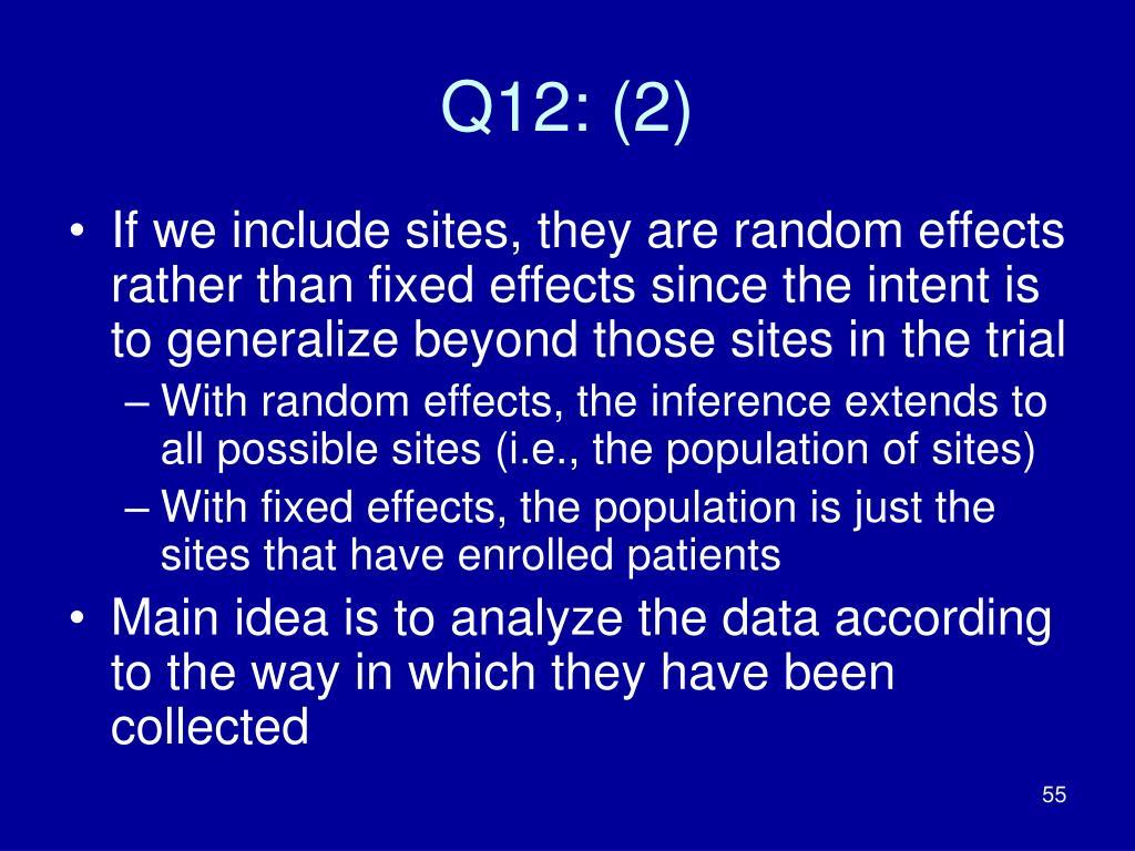 Q12: (2)