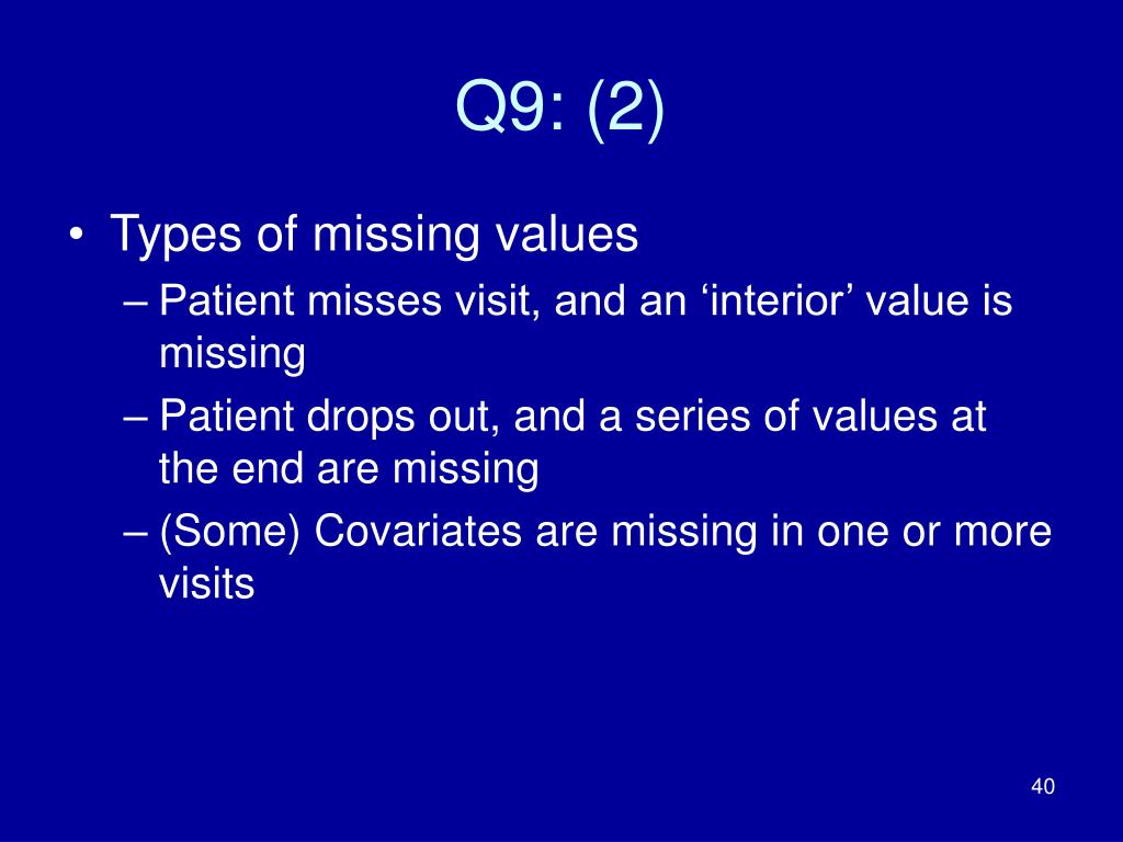 Q9: (2)