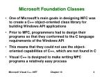 microsoft foundation classes4