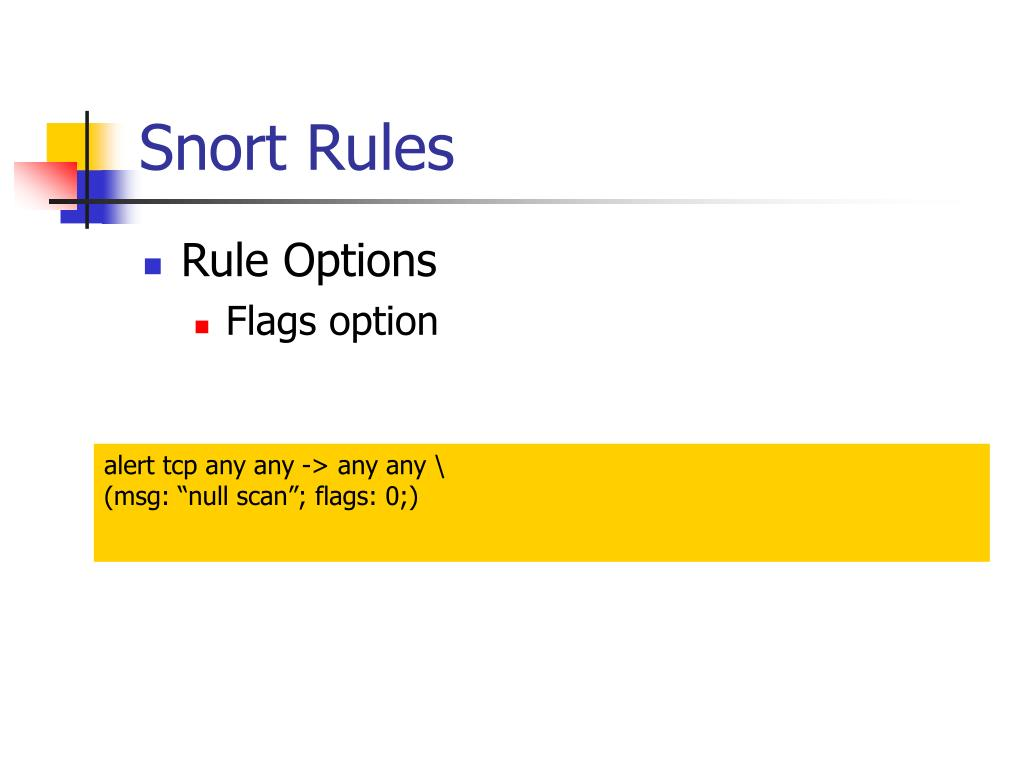 Snort Rules