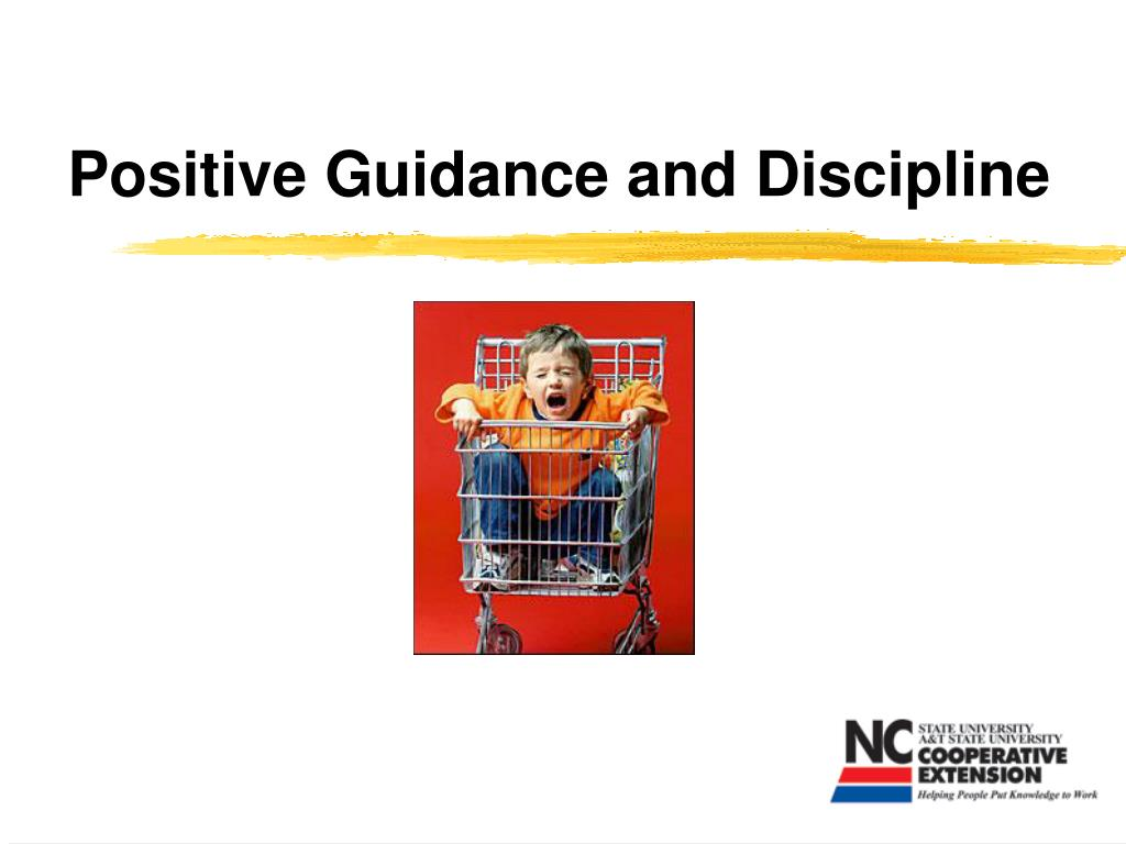 positive guidance and discipline l.