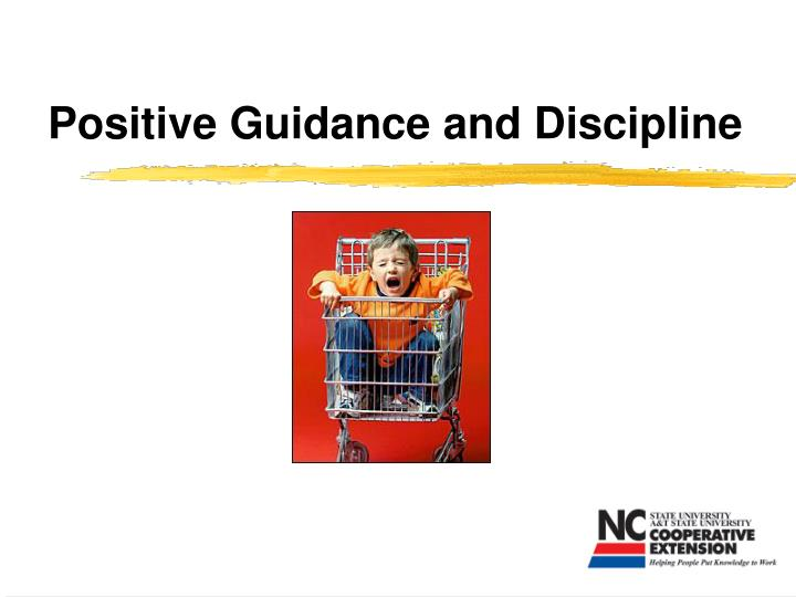 positive guidance and discipline n.
