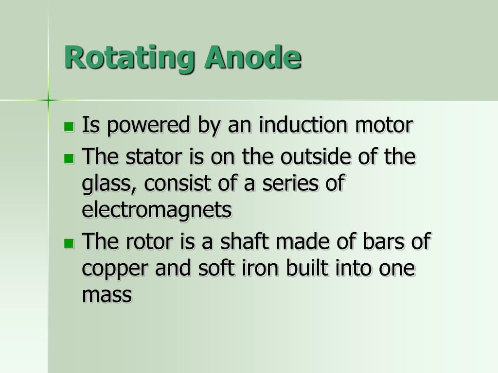 Rotating Anode