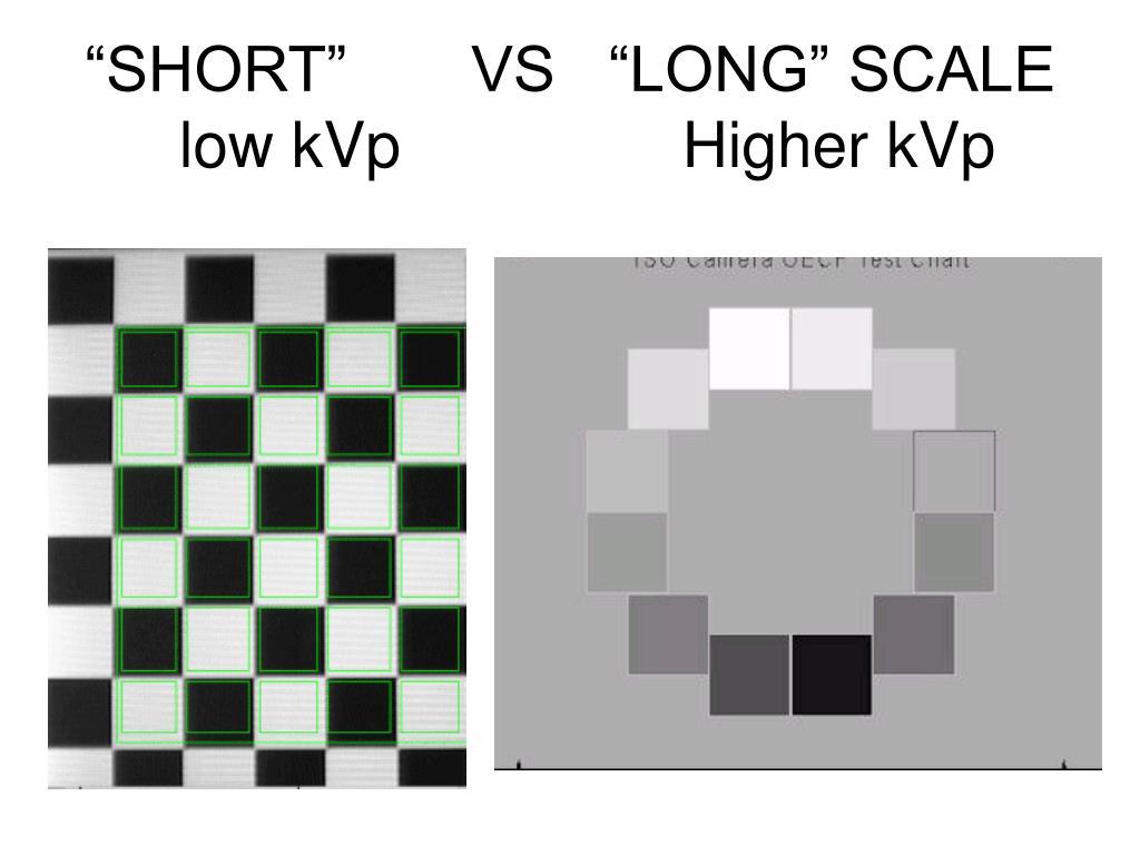 """SHORT""       VS   ""LONG"" SCALE"