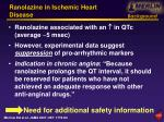 ranolazine in ischemic heart disease3