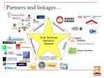 partners and linkages
