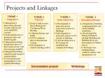 projects and linkages