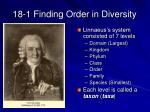 18 1 finding order in diversity5