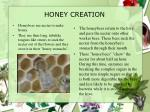 honey creation